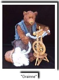 a truly spinning bear : Grainne